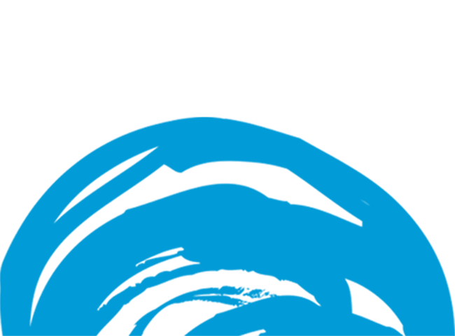 blue and white yonder logo